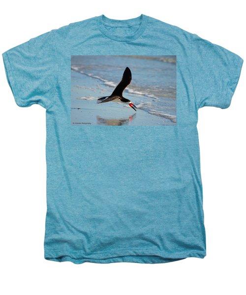 Black Skimmer Men's Premium T-Shirt