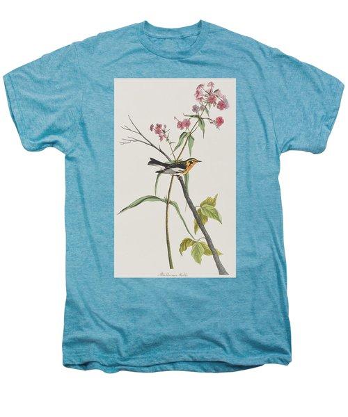Blackburnian Warbler Men's Premium T-Shirt