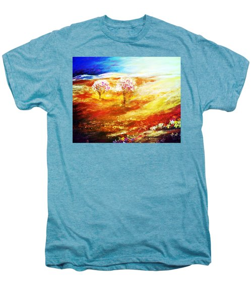 Blossom Dawn Men's Premium T-Shirt by Winsome Gunning