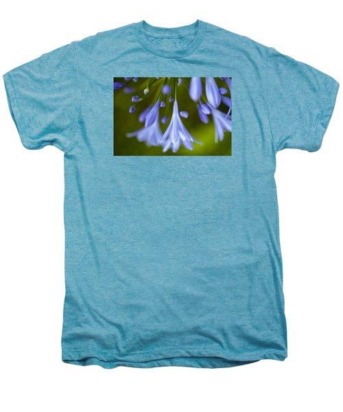 Blue Flowers Men's Premium T-Shirt