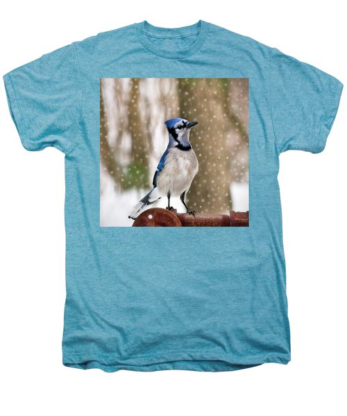 Blue For You Men's Premium T-Shirt by Evelina Kremsdorf