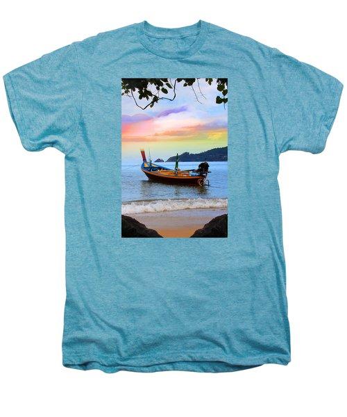 Blue Men's Premium T-Shirt