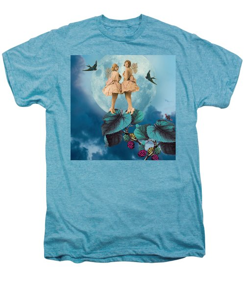 Blue Moon Men's Premium T-Shirt by Olga Snell