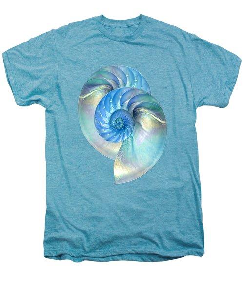 Blue Nautilus Pair Men's Premium T-Shirt
