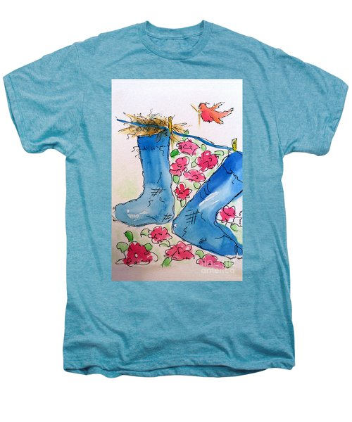 Blue Stockings Men's Premium T-Shirt