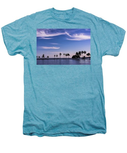 Blue Tropics Men's Premium T-Shirt