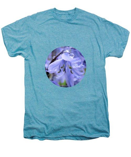 Bluebell Wood By V.kelly Men's Premium T-Shirt
