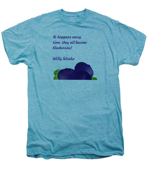 Blueberries Men's Premium T-Shirt