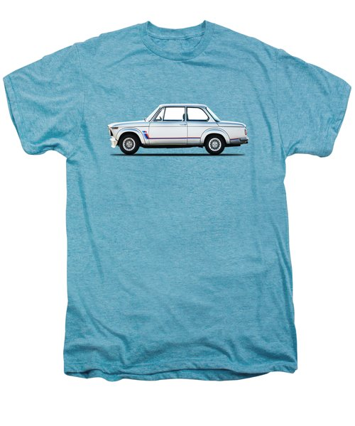 Bmw 2002 Turbo Men's Premium T-Shirt by Mark Rogan