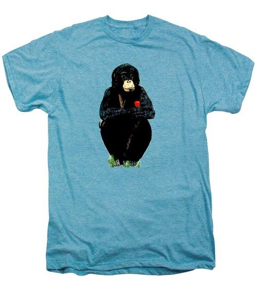 Bo Men's Premium T-Shirt by Teresa  Peterson
