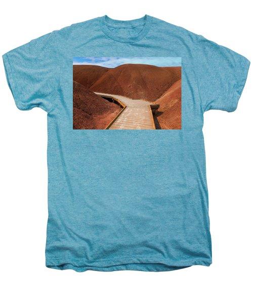 Boardwalk At Painted Cove Hiking Loop Men's Premium T-Shirt