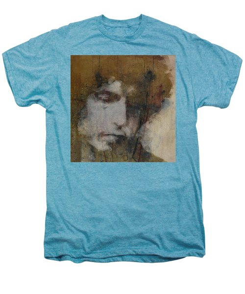 Bob Dylan - The Times They Are A Changin' Men's Premium T-Shirt
