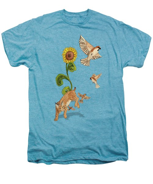 Bobcats And Beeswax Men's Premium T-Shirt by Teighlor Chaney