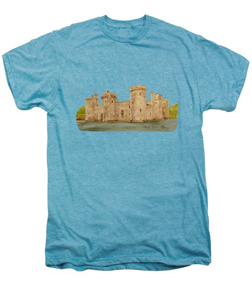Bodiam Castle Men's Premium T-Shirt by Angeles M Pomata