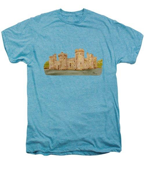 Bodiam Castle Men's Premium T-Shirt by Angeles M Pomata
