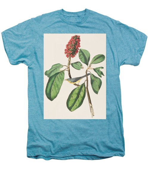 Bonaparte's Flycatcher Men's Premium T-Shirt by John James Audubon