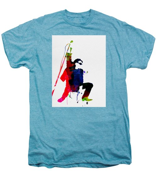 Bono Watercolor Men's Premium T-Shirt by Naxart Studio