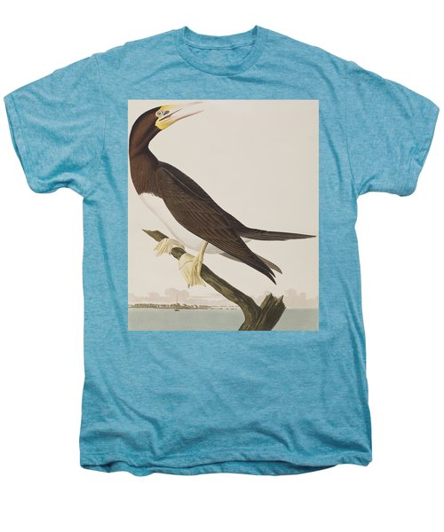 Booby Gannet   Men's Premium T-Shirt by John James Audubon