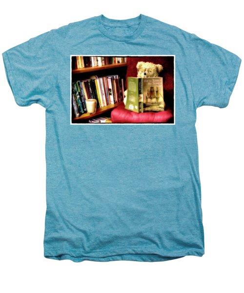 Bookworm Ted Men's Premium T-Shirt
