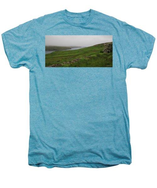 Borrowston Morning Clouds Men's Premium T-Shirt