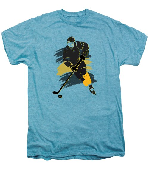 Boston Bruins Player Shirt Men's Premium T-Shirt by Joe Hamilton