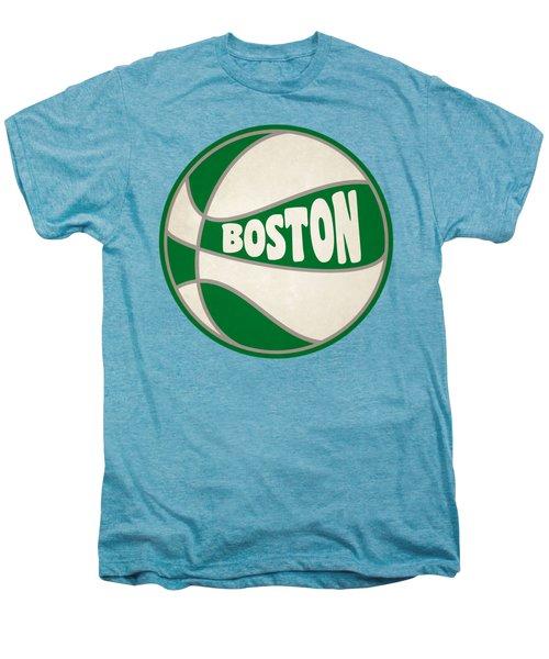 Boston Celtics Retro Shirt Men's Premium T-Shirt by Joe Hamilton