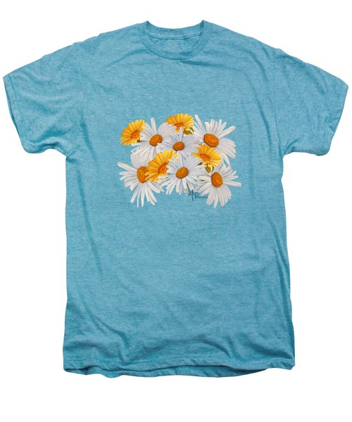 Bouquet Of Wild Flowers Men's Premium T-Shirt