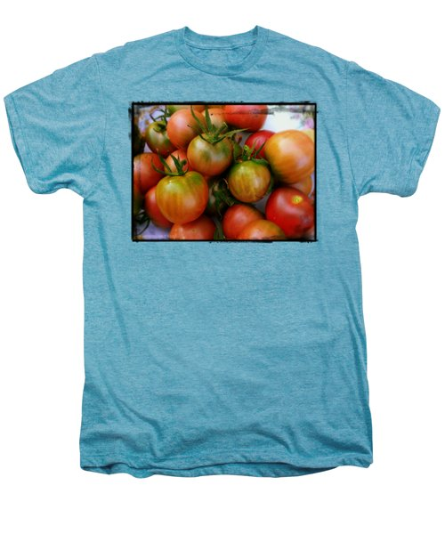 Bowl Of Heirloom Tomatoes Men's Premium T-Shirt