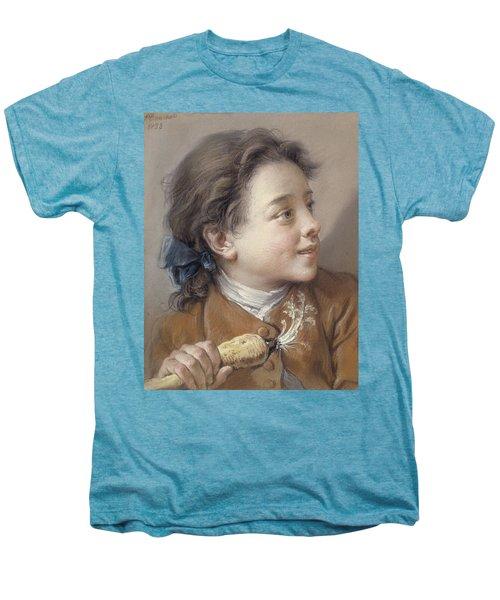 Boy With A Carrot, 1738 Men's Premium T-Shirt