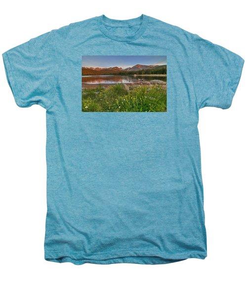 Men's Premium T-Shirt featuring the photograph Brainard Lake by Gary Lengyel