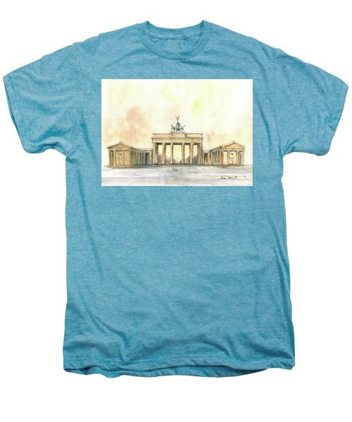 Brandenburger Tor, Berlin Men's Premium T-Shirt