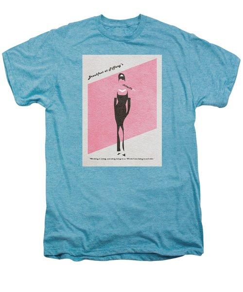Breakfast At Tiffany's Men's Premium T-Shirt by Ayse Deniz