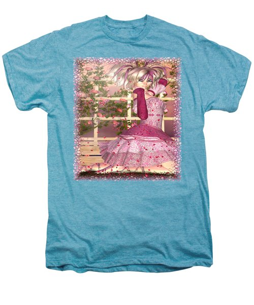 Breath Of Rose Fantasy Elf Men's Premium T-Shirt by Sharon and Renee Lozen