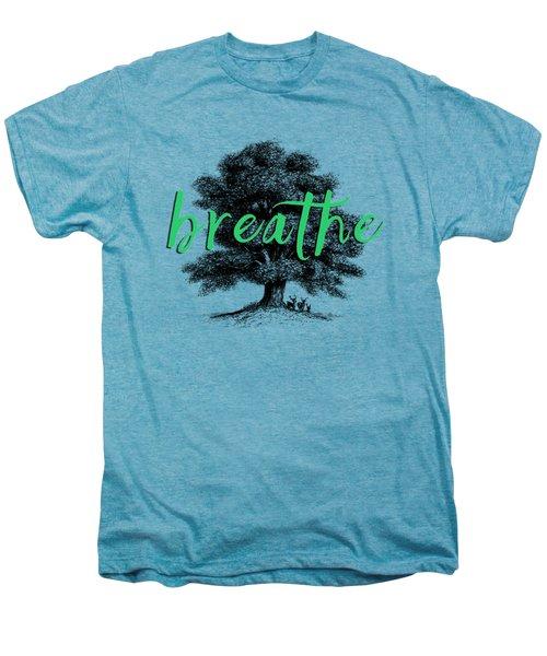 Breathe Shirt Men's Premium T-Shirt by Edward Fielding