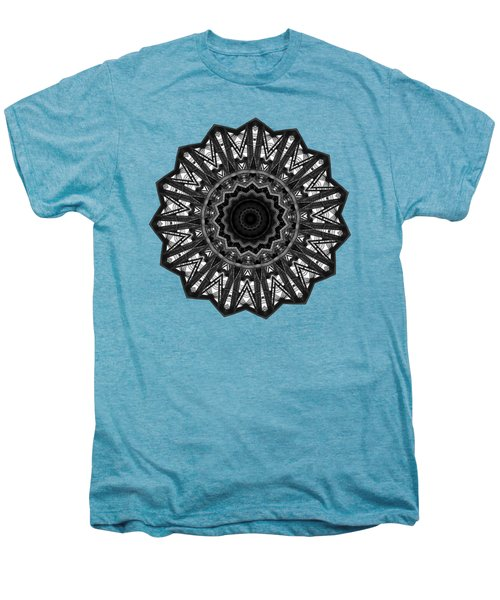 Bridge Construction Kaleidoscope By Kaye Menner Men's Premium T-Shirt