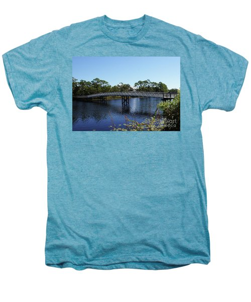 Western Lake Bridge Men's Premium T-Shirt