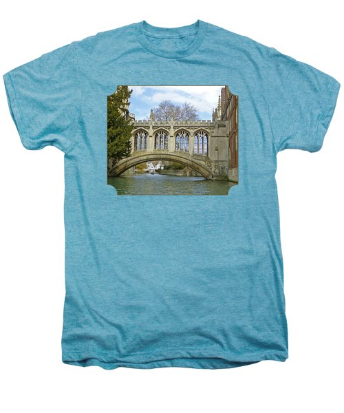 Bridge Of Sighs Cambridge Men's Premium T-Shirt by Gill Billington