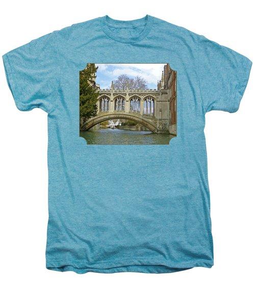 Bridge Of Sighs Cambridge Men's Premium T-Shirt