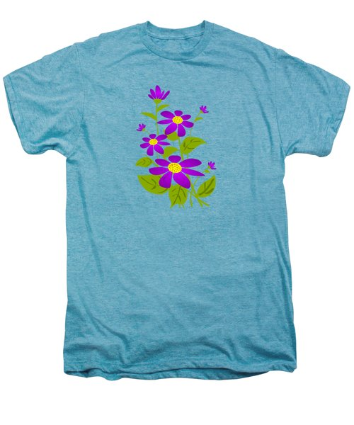 Bright Purple Men's Premium T-Shirt by Anastasiya Malakhova
