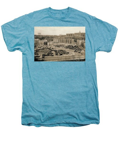 Broadway And Nagle Ave 1936 Men's Premium T-Shirt by Cole Thompson