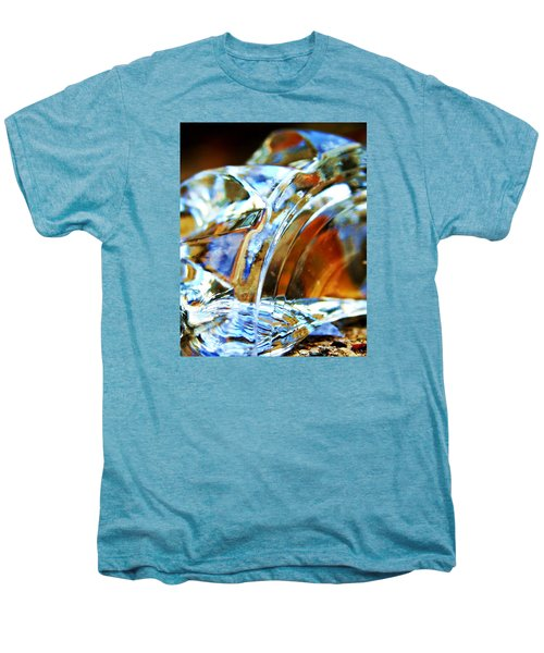 Broken Glass In A Stairwell Men's Premium T-Shirt