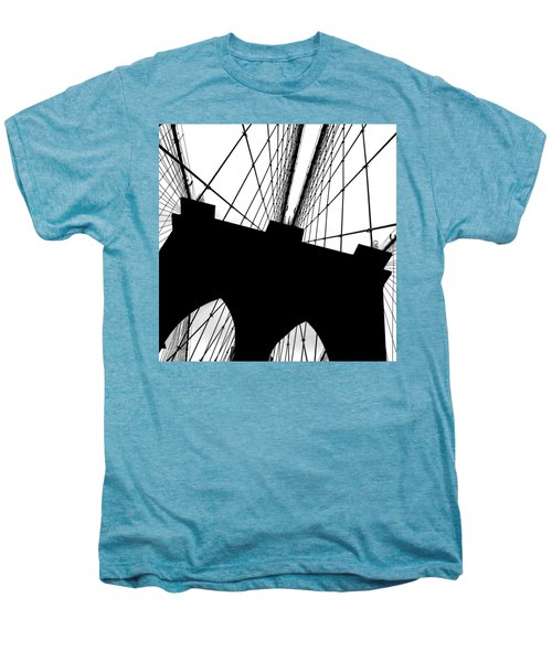 Brooklyn Bridge Architectural View Men's Premium T-Shirt