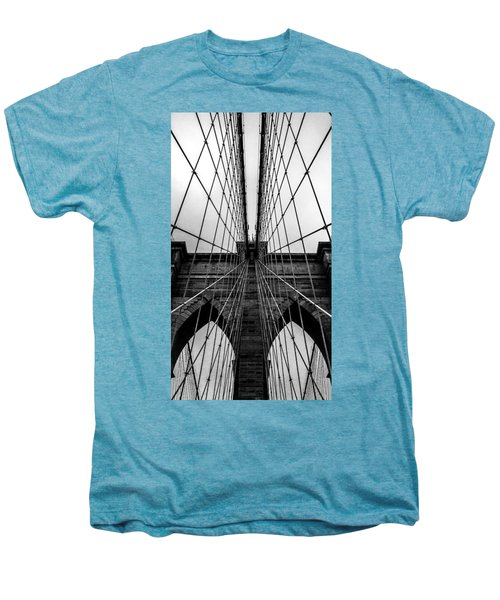 Brooklyn's Web Men's Premium T-Shirt by Az Jackson