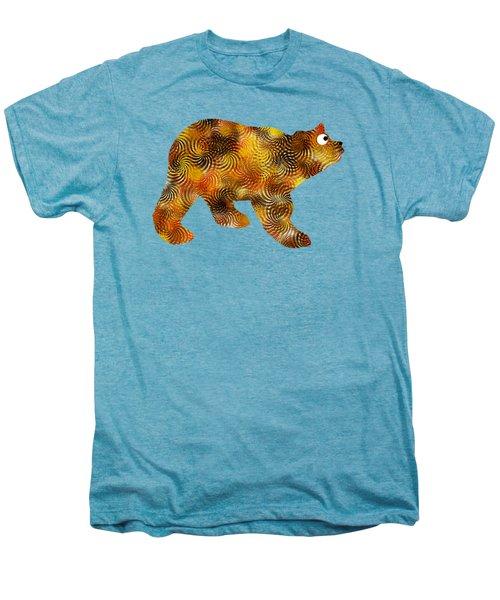 Brown Bear Silhouette Men's Premium T-Shirt by Christina Rollo