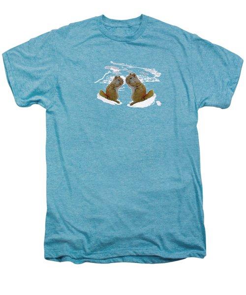 Brrr Just Chillin Men's Premium T-Shirt by Mike Breau