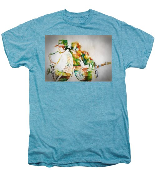 Bruce And The Big Man Men's Premium T-Shirt by Dan Sproul