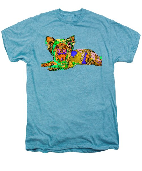 Buddy. Pet Series Men's Premium T-Shirt