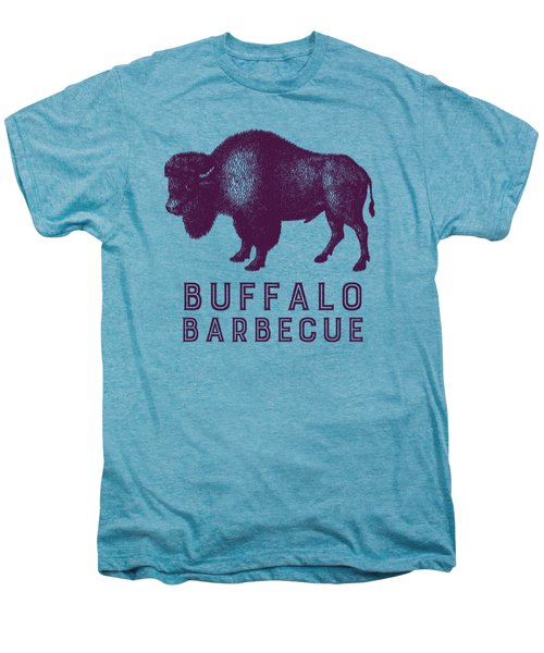 Buffalo Barbecue Men's Premium T-Shirt by Antique Images