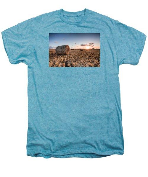 Bundy Hay Bales #5 Men's Premium T-Shirt