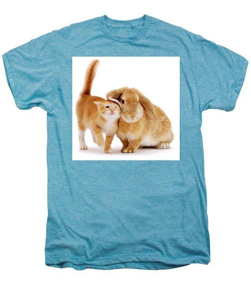 Bunny Rubbing Men's Premium T-Shirt